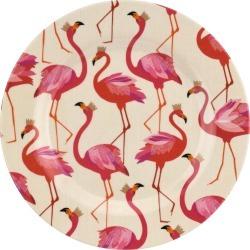 Flamingo Melamine Salad Plates, Set of 4 found on Bargain Bro India from horchow.com for $43.00