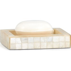 Capiz Ivory Soap Dish found on Bargain Bro India from horchow.com for $190.00