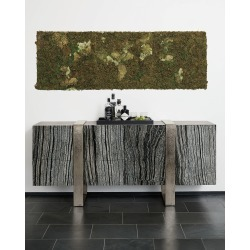 Linea Black Forest Marble Console found on Bargain Bro India from horchow.com for $5179.00