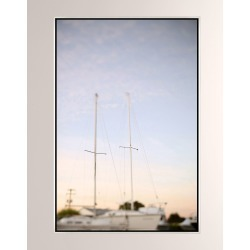 Ghost Ships Giclee On Canvas Wall Art With Frame found on Bargain Bro from horchow.com for USD $402.80