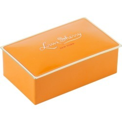 Tangerine Two-Piece Chocolate Truffle Tin found on Bargain Bro India from horchow.com for $8.50