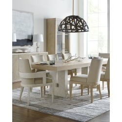 Cascade Rectangular Dining Table found on Bargain Bro India from horchow.com for $2959.00
