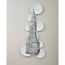 Chrysler Building Plate Set found on Bargain Bro Philippines from horchow.com for $740.00