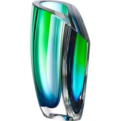 Mirage Vase, Blue/Green found on Bargain Bro India from horchow.com for $525.00