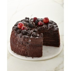 Giant Chocolate Cake, For 12 People found on Bargain Bro India from horchow.com for $120.00