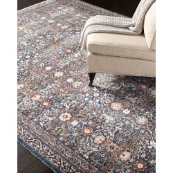 Belvoir Power-Loomed Rug, 5.3' x 7.6' found on Bargain Bro India from horchow.com for $399.00