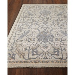 Simone Hand Knotted Rug, 9' x 13' found on Bargain Bro India from horchow.com for $6509.00