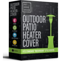 Halo Patio Heater Cover, Black