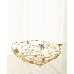 Anemone Centerpiece Bowl found on Bargain Bro India from horchow.com for $425.00