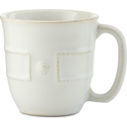 Berry & Thread French Panel Whitewash Cofftea Cup found on Bargain Bro India from horchow.com for $32.00