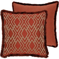 Harrogate Woven Decorative Pillow found on Bargain Bro India from horchow.com for $65.00