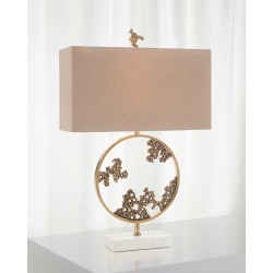 Aperture Ring Table Lamp found on Bargain Bro India from horchow.com for $855.00