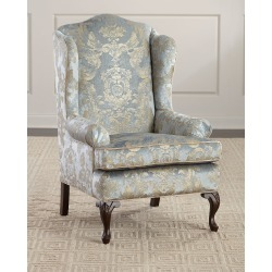 Priscilla Wing Chair found on Bargain Bro from horchow.com for USD $2,203.24