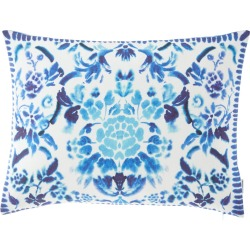 Cellini Decorative Pillow, Cobalt found on Bargain Bro India from horchow.com for $160.00