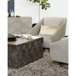 Milano Swivel Chair found on Bargain Bro India from horchow.com for $3809.00
