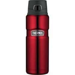Thermos 710ml Stainless King Stainless Steel Vacuum Insulated Bottle with Flip Lid Red found on Bargain Bro Philippines from house.com.au for $35.35