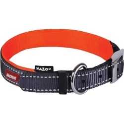 Kazoo Active Nylon Dog Collar Slate & Orange Medium found on Bargain Bro Philippines from house.com.au for $15.20