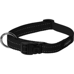 Rogz Utility Fanbelt Dog Collar Black Large found on Bargain Bro India from house.com.au for $11.00