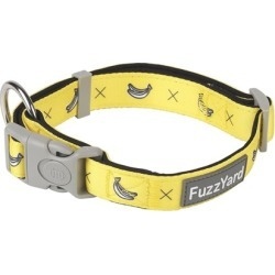 FuzzYard Dog Collar Monkey Mania Yellow Large found on Bargain Bro India from house.com.au for $18.10