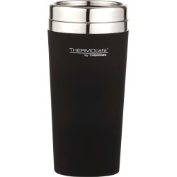 Thermos THERMOcafe Soft Touch Travel Tumbler Matte Black 420ml found on Bargain Bro Philippines from house.com.au for $10.21