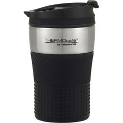 Thermos THERMOcafe Stainless Steel Vacuum Insulated Travel Cup 200ml Black found on Bargain Bro Philippines from house.com.au for $14.14
