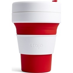 Stojo Pocket Cup 335ml Red found on Bargain Bro Philippines from house.com.au for $14.92