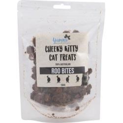 Yummi Cheeky Kitty Roo Bites Cat Treat 150g found on Bargain Bro India from house.com.au for $6.15