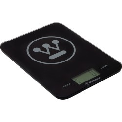 Westinghouse Slimline Digital Kitchen Scales 8kg Black found on Bargain Bro Philippines from house.com.au for $27.50