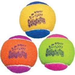 Kong Dog Airdog Squeaker Birthday Balls