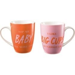 Ambrosia Duo New Bone China 2 Piece Mug Set 350ml Sip Me found on Bargain Bro Philippines from house.com.au for $3.93