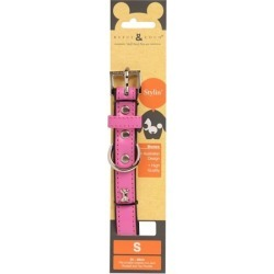 Rufus & Coco Bones Dog Collar Pink Small found on Bargain Bro India from house.com.au for $8.94