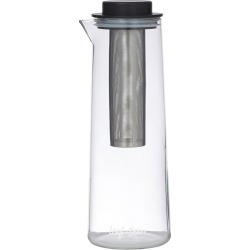 Leaf & Bean Glass & Stainless Steel Cold Brew/Ice Tea Flask with Infuser found on Bargain Bro Philippines from house.com.au for $31.43