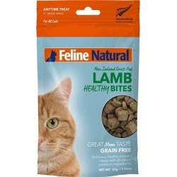 Feline Natural Lamb Healthy Bites Cat Treat 50g found on Bargain Bro India from house.com.au for $7.96