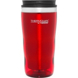 Thermos Stainless Steel Inner, Plastic Outer Travel Tumbler Red 470ml found on Bargain Bro Philippines from house.com.au for $7.85