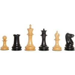 "The Camaratta Collection - The Original Cooke 1849 Series Luxury Chess Pieces - 4.4"" King"