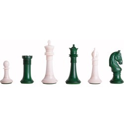 "The Monmouth Luxury Bone Chess Pieces - 4.0"" King"