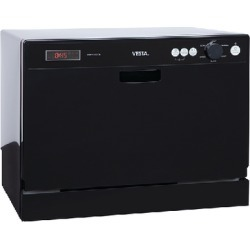 Dishwasher Vesta Countertop Bk - Countertop Dishwasher