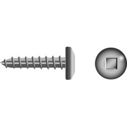 Seachoice Square Tapping Screws - Pan Head #12X1 SQR PAN SMS SS 100/BG found on Bargain Bro Philippines from iboats for $12.99