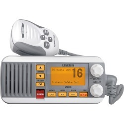 Uniden UM435 Fixed Mount VHF Radio - White found on Bargain Bro India from iboats for $132.99