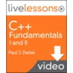 C++ Fundamentals I and II LiveLessons (Video Training): Lesson 17: STL Algorithms, the Bitset Class, and Function Objects, Downloadable Version found on Bargain Bro India from Inform It for $9.99