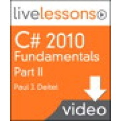 C# 2010 Fundamentals I, II, and III LiveLessons (Video Training): Part II, Lesson 12: Graphical User Interfaces with Windows Forms: Part 1, 1/e found on Bargain Bro Philippines from Inform It for $21.24