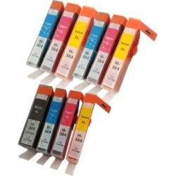 Compatible HP 364XL Ink Cartridges Colour Mixed Multipack - 10 Inks found on Bargain Bro UK from internet ink