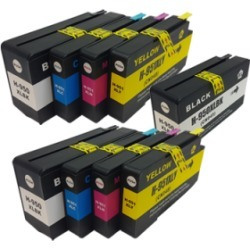 Compatible HP 950XL 951XL Ink Cartridge TWIN Multipack + FREE Black Ink - 9 Inks found on Bargain Bro UK from internet ink