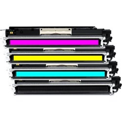 Compatible HP 124A Q6000A Toner Cartridge Multipack - 4 Toners found on Bargain Bro UK from internet ink