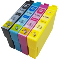 Compatible Epson T1285 Multipack (T1281/2/3/4) Ink Cartridges BK/C/M/Y found on Bargain Bro UK from internet ink