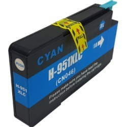 Compatible HP 951XL Ink Cartridge Cyan found on Bargain Bro UK from internet ink