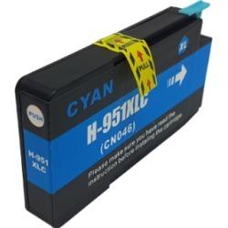Compatible HP 951XL Ink Cartridge Cyan