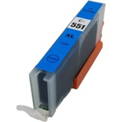 Compatible Canon CLI-551XL Cyan Ink Cartridge found on Bargain Bro UK from internet ink