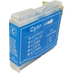 Compatible Brother LC1000 Ink Cartridge Cyan