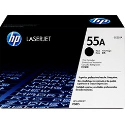 HP 55A CE255A Toner Cartridge Black Original found on Bargain Bro UK from internet ink